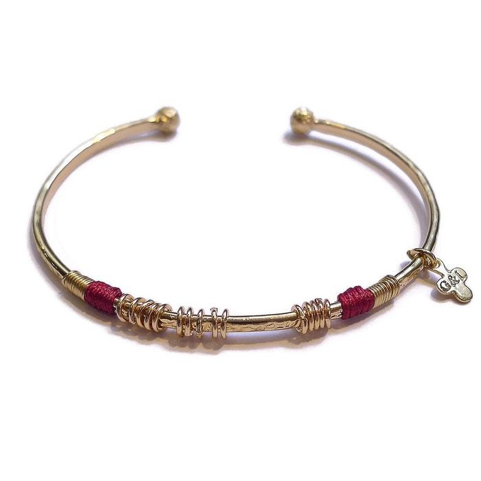 Jonc 15 anneaux plaqué or or Gag & Lou | La Redoute Style De Mode De Sortie XdBr8E11m