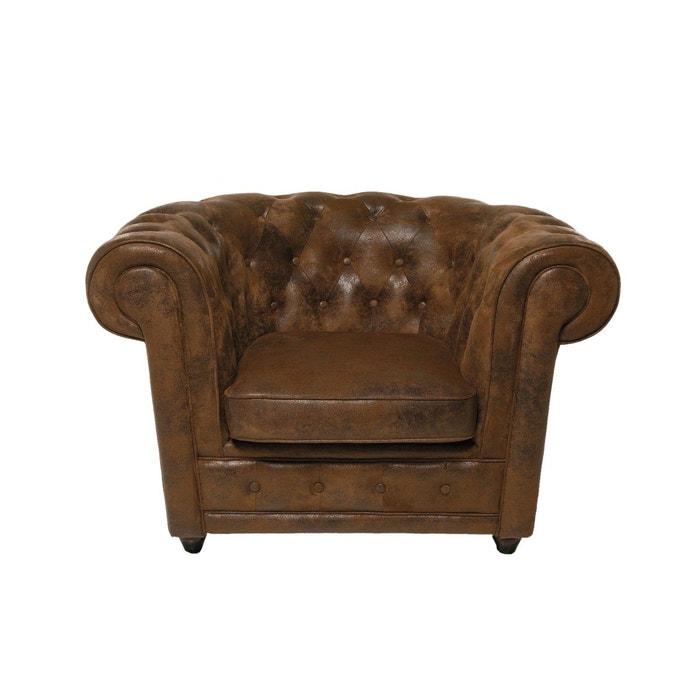 fauteuil capitonn oxford vintage kare design couleur unique kare design la redoute. Black Bedroom Furniture Sets. Home Design Ideas