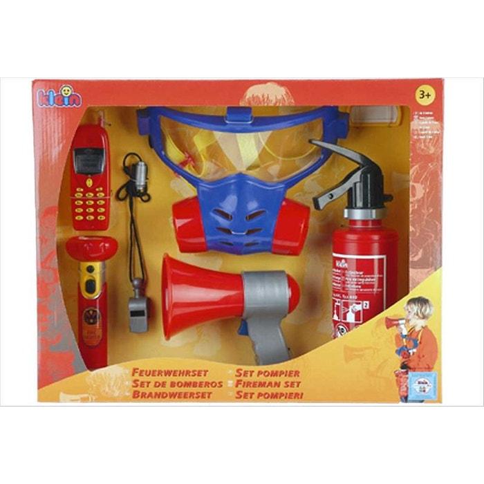 Set accessoires de pompiers Klein