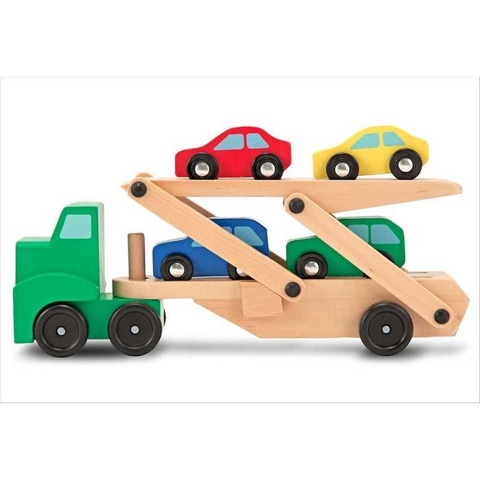 jouet camion transporteur de voitures melissa et doug la redoute. Black Bedroom Furniture Sets. Home Design Ideas