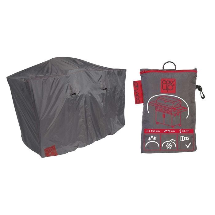 housse de protection pour barbecue xl 150 x 60 cm gris oviala la redoute. Black Bedroom Furniture Sets. Home Design Ideas