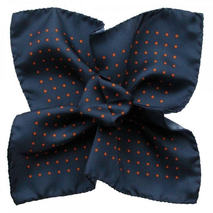 Pochette soie, segni & disegni, milano marine orange marine Segni Et Disegni | La Redoute