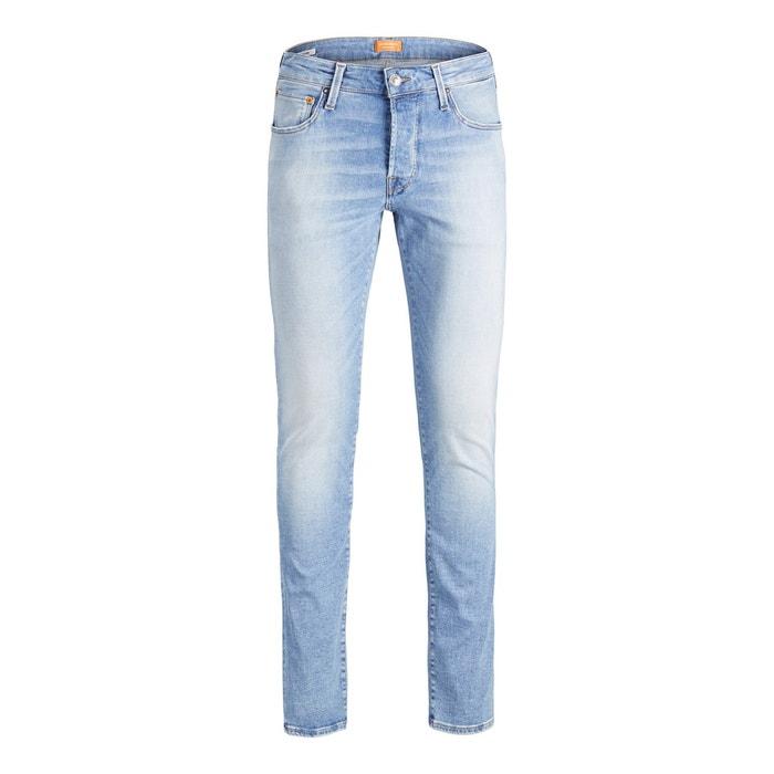 billig så billigt Fabriks Outlet Glenn stretch slim-fit jeans , light blue, Jack & Jones | La Redoute