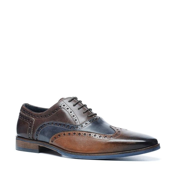 Chaussures à lacets brogue marron Sacha