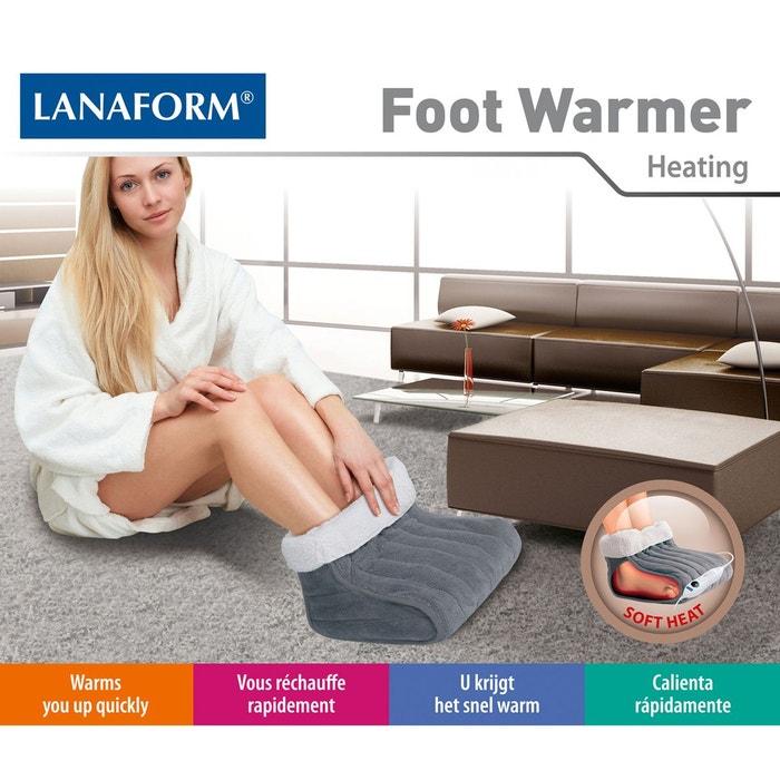 Chauffe pieds électrique chancelière la180401 gris Lanaform