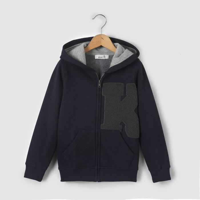 afbeelding Sweater met kap en rits La Redoute Collections