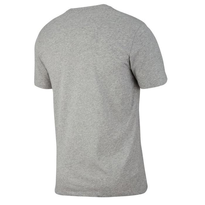 con delante redondo estampado corta y manga cuello Camiseta de NIKE FCvwqTO