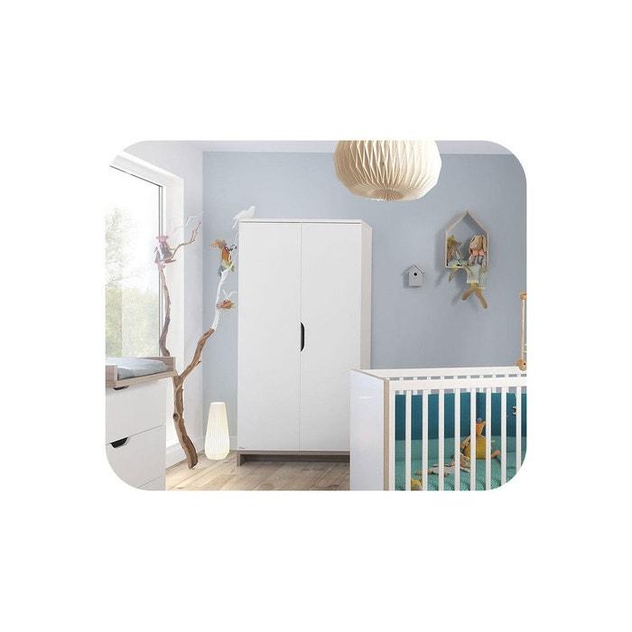 armoire b b plume blanc ma chambre d 39 enfant la redoute. Black Bedroom Furniture Sets. Home Design Ideas