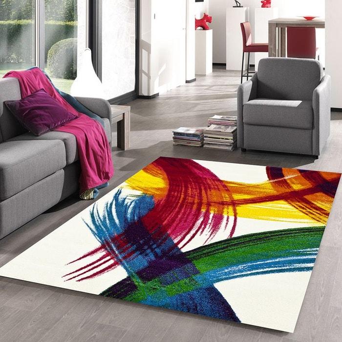 tapis de salon moderne design jolia polypropyl ne creme dezenco la redoute. Black Bedroom Furniture Sets. Home Design Ideas