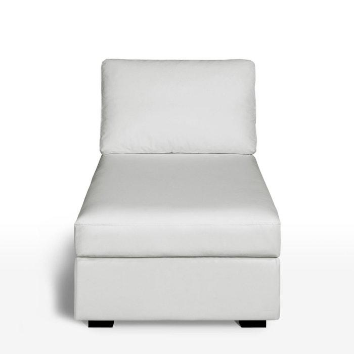 afbeelding Longchair in leer, uitstekend comfort, Robin La Redoute Interieurs