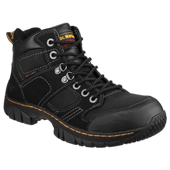 Dr martens benham - chaussures montantes de sécurité - adulte unisexe noir Dr Martens
