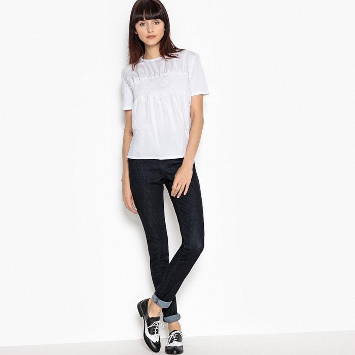 MADEMOISELLE R Camiseta MADEMOISELLE Camiseta con con smocks R dSSTPr