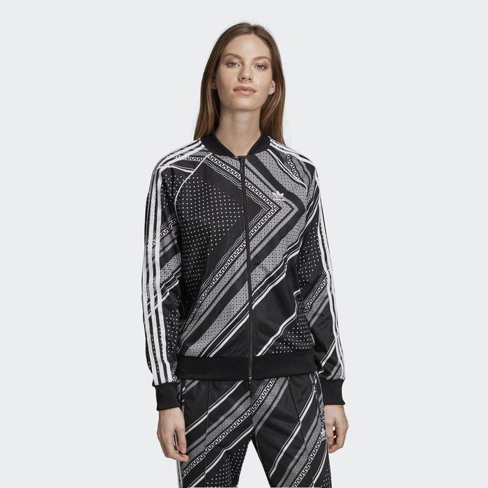 Veste De Survetement Sst Noir Adidas Originals La Redoute