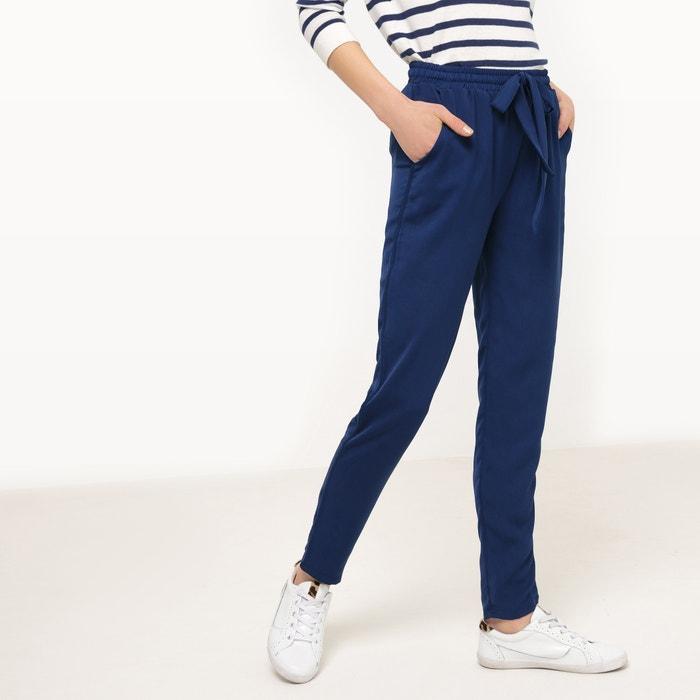 Plain Straight Trousers