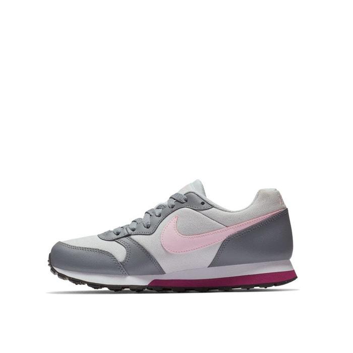 Baskets md runner 2 (gs) gris rose Nike   La Redoute cb081fcc2f14