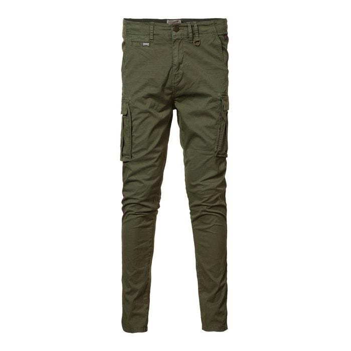 Image Pantalon battle coupe slim en coton stretch PETROL INDUSTRIES