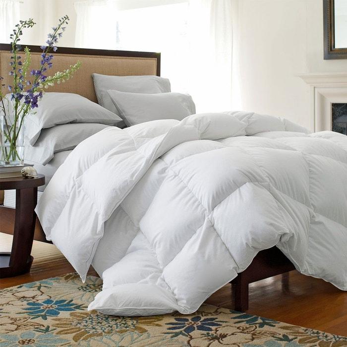 couette naturelle 400gr m 40 duvet 60 plumettes plein ciel blanc sensei la maison du coton. Black Bedroom Furniture Sets. Home Design Ideas