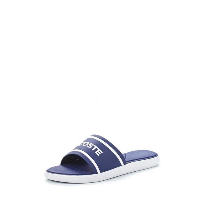 3b9a86d3d Sandale lacoste l.30 slide 118 1 caw - 735caw00202b9 bleu Lacoste ...
