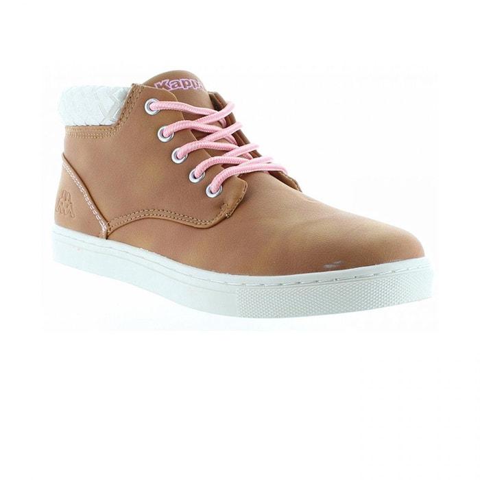 Chaussures Cit Kid Mocha Brown/Pink Lady Jr - Kappa COkMg1Dv