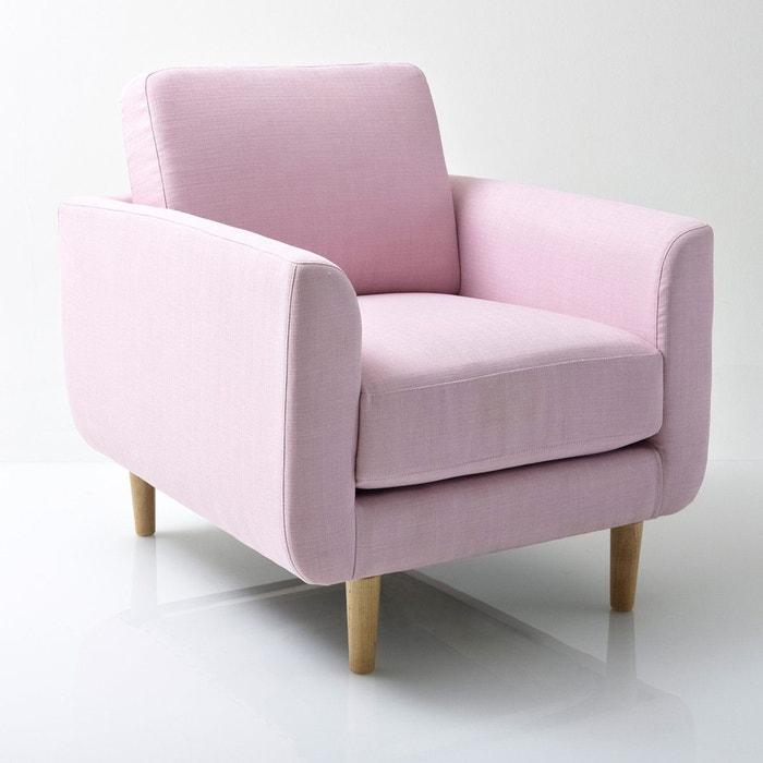 fauteuil jimi rose la redoute interieurs la redoute. Black Bedroom Furniture Sets. Home Design Ideas