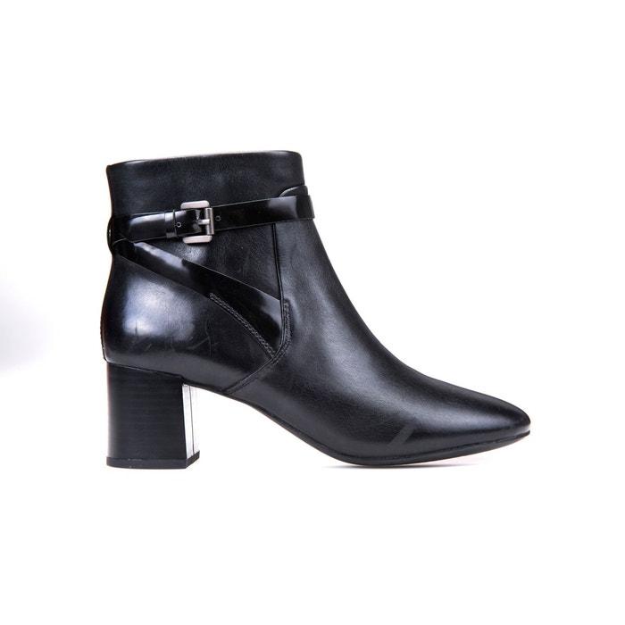 Boots cuir audalies  noir Geox  La Redoute