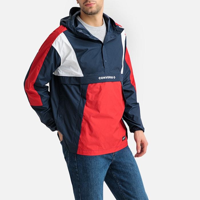 9db5c658682 Windjack blauw+wit+rood Converse | La Redoute