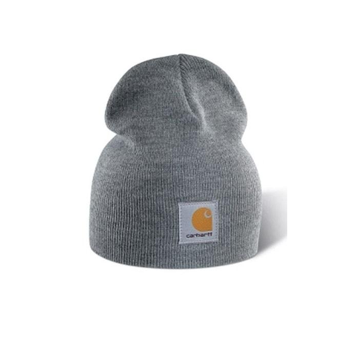 bonnet tricot gris carhartt la redoute. Black Bedroom Furniture Sets. Home Design Ideas