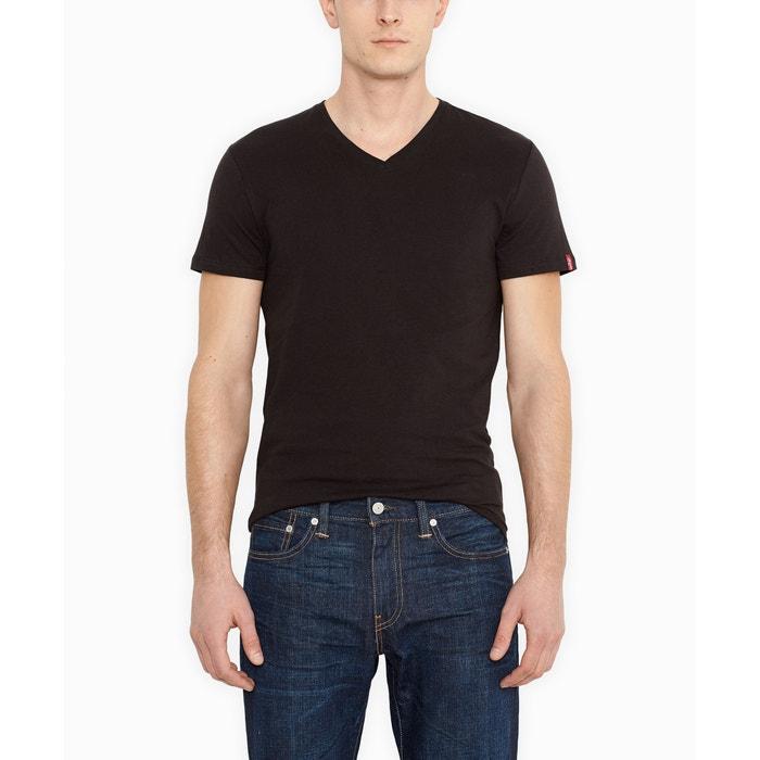 afbeelding Set van 2 T-shirts met V-hals, slim model LEVI'S