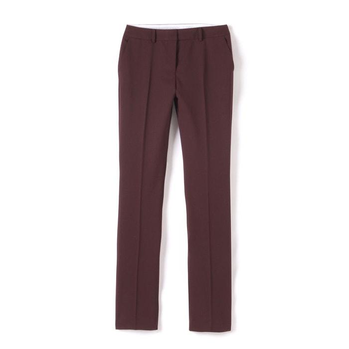 La Redoute Collections Pantalon droit en polyester