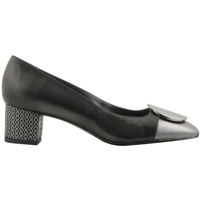 Vraiment Pas Cher Chaussures à talons albane gris foncé Exclusif Paris Boutique En Ligne Pas Cher NSzrC2dTH8