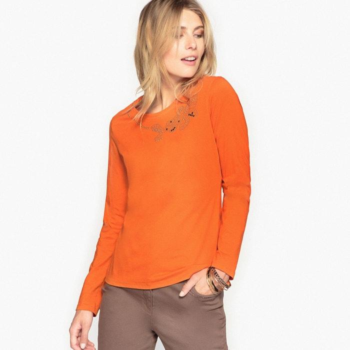 T-shirt pur coton peigné ANNE WEYBURN