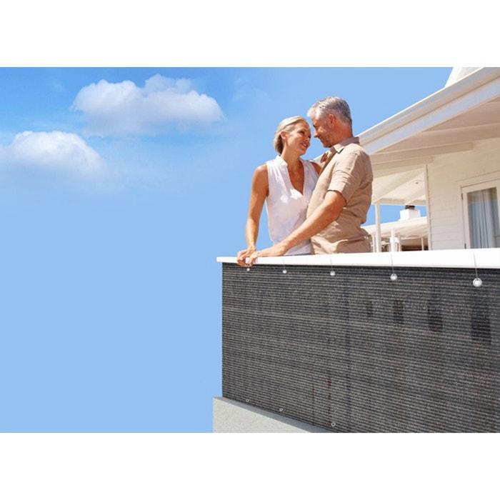 brise vue pour grillage 500 x cm brun havane couleur unique jardideco la redoute. Black Bedroom Furniture Sets. Home Design Ideas