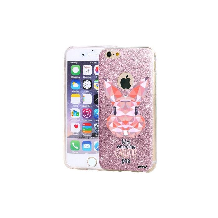 coque iphone 6 lapin rose