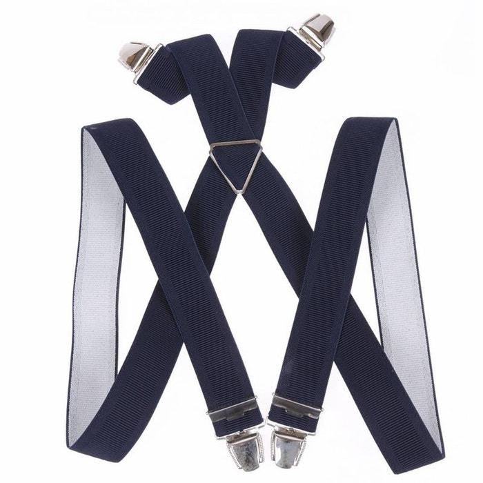 Bretelles marine polyester noir Touche Finale   La Redoute Le Plus Grand Fournisseur De Dédouanement Meilleure Vente En Ligne tXx2qU2CJA