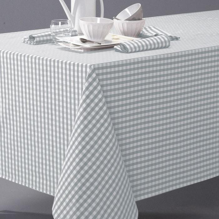 nappe vichy en pur coton tiss teint garden party la redoute interieurs en solde la redoute. Black Bedroom Furniture Sets. Home Design Ideas
