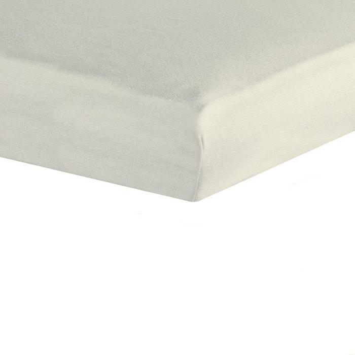 drap housse 70x140 cru ecru les kinousses la redoute. Black Bedroom Furniture Sets. Home Design Ideas