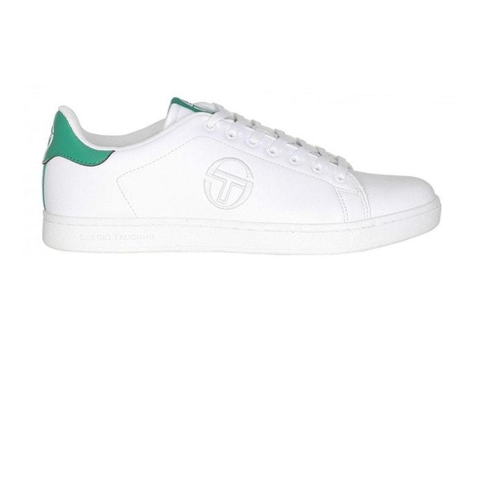 Chaussures gran torino white/green blanc Sergio Tacchini