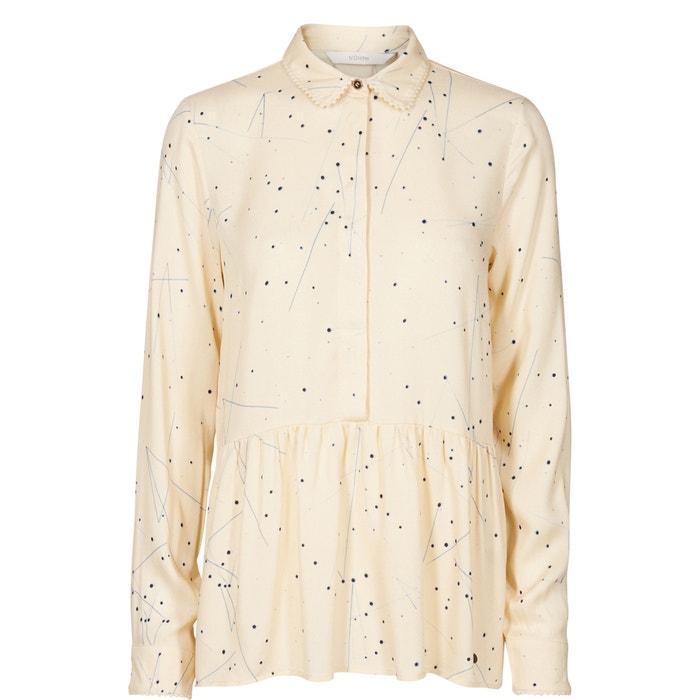 Image Camicetta collo a polo, camicia fantasia, maniche lunghe NUMPH