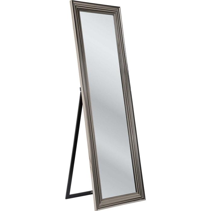 Miroir sur pied Frame argenté 180x55cm Kare Design