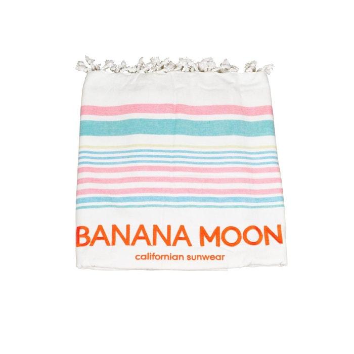 fouta marbella yanko multicolore multicolore banana moon la redoute. Black Bedroom Furniture Sets. Home Design Ideas