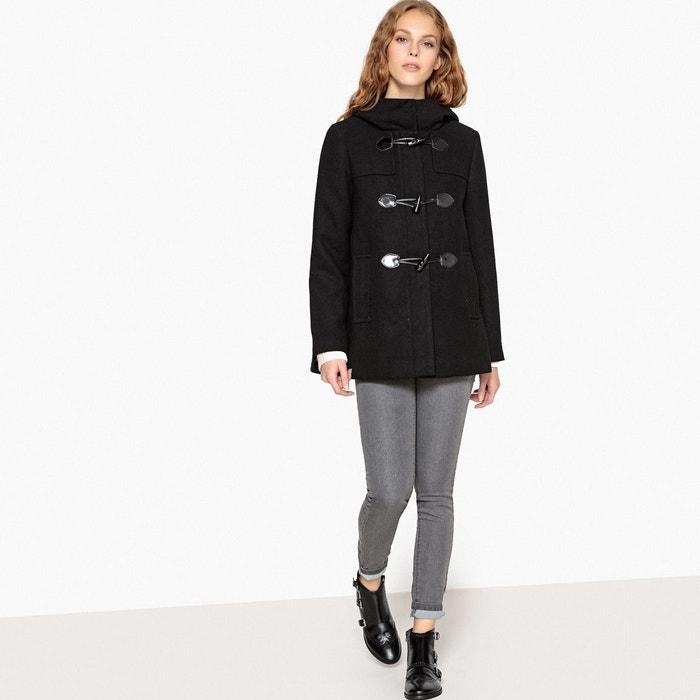 Duffle coat court à capuche  LA REDOUTE COLLECTIONS image 0