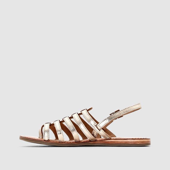 Sandales cuir heripo Les Tropeziennes Par M Belarbi