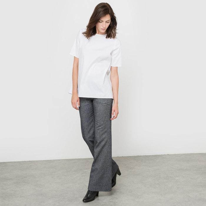 Блуза из хлопка с короткими рукавами