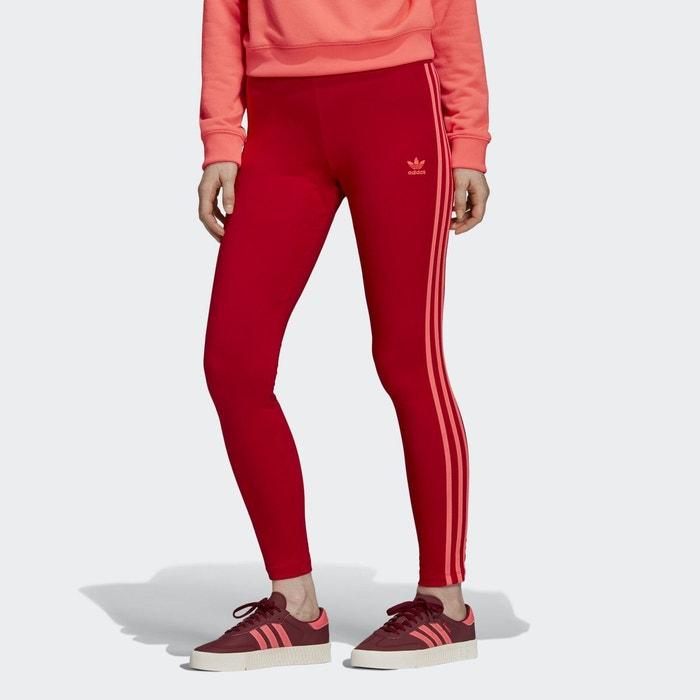 legging rouge adidas