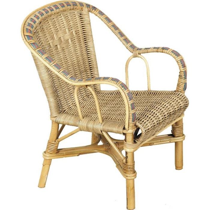 fauteuil enfant en rotin crapaud naturel aubry gaspard la redoute. Black Bedroom Furniture Sets. Home Design Ideas