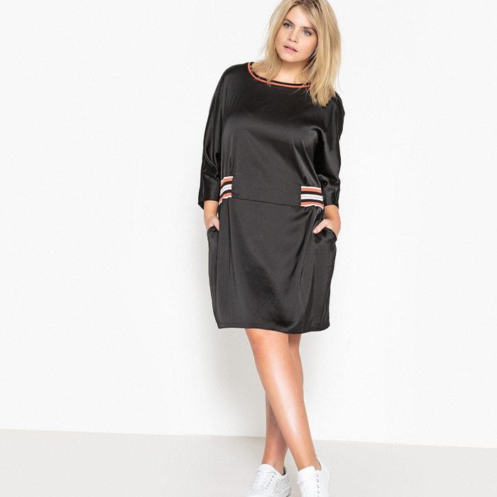 Dress with Elasticated Detail at Waist  CASTALUNA PLUS SIZE image 0
