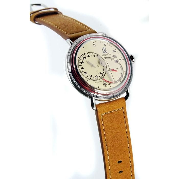 Airspeed vintage cuir brun Cjr | La Redoute Vente Grande Remise Photos De Vente À Bas Prix Visitez En Ligne eGzr3oLu