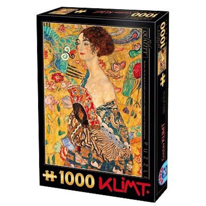 L'éventail Pièces Redoute DtoysLa KlimtFemme Puzzle À 1000 80vmnONw
