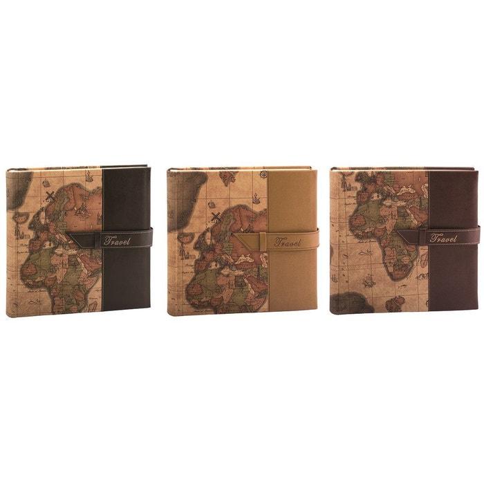 "Lot de trois albums photos fantaisie traditionnel ERICA ""Travel 2"" CARPENTRAS SIGN"
