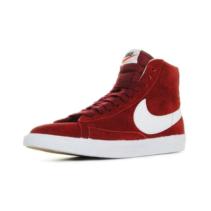 Baskets wmns blazer mid suede  rouge/blanc Nike  La Redoute